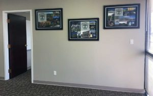 Reception area of Beckrich Construction's new location.